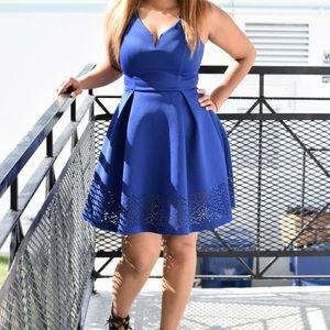 Blue Olga Dress